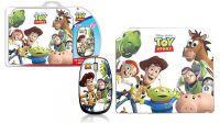 Pack ratón óptico 1000 dpi USB 2.0 y alfombrilla Toy Story