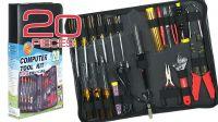 Kit de herramientas para ordenador de 20 piezas