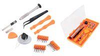Kit de herramientas llave magnética con puntas precisión y accesorios reparación móvil 26 piezas