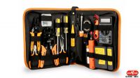 Kit de herramientas para redes y reparaciones 17 piezas