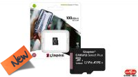 Tarjeta de memoria Kingston Micro SDXC Class 10 R:100MB/s W:85MB/s