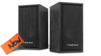 Coluna NATEC 2.0 PANTHER USB 6W RMS Negra