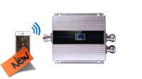 Repetidor de señal 300M2 GSM 3G 900Mhz plateado especial zonas rurales