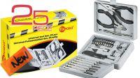 Maletín de herramientas para ordenador 25 piezas rígido